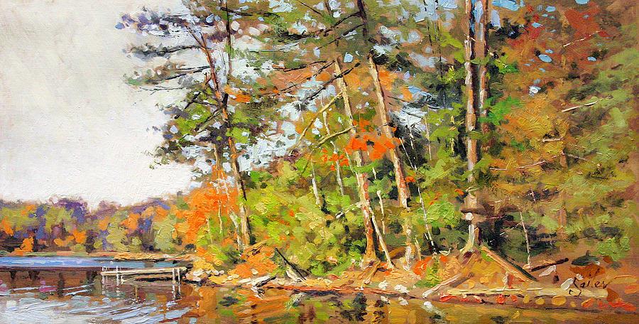 Landscape Painting - Generations Shore by Larry Seiler
