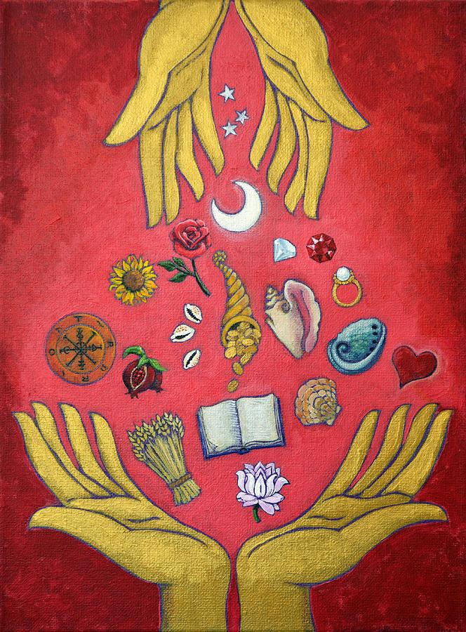 Generosity Painting - Generosity by Jennifer Masters