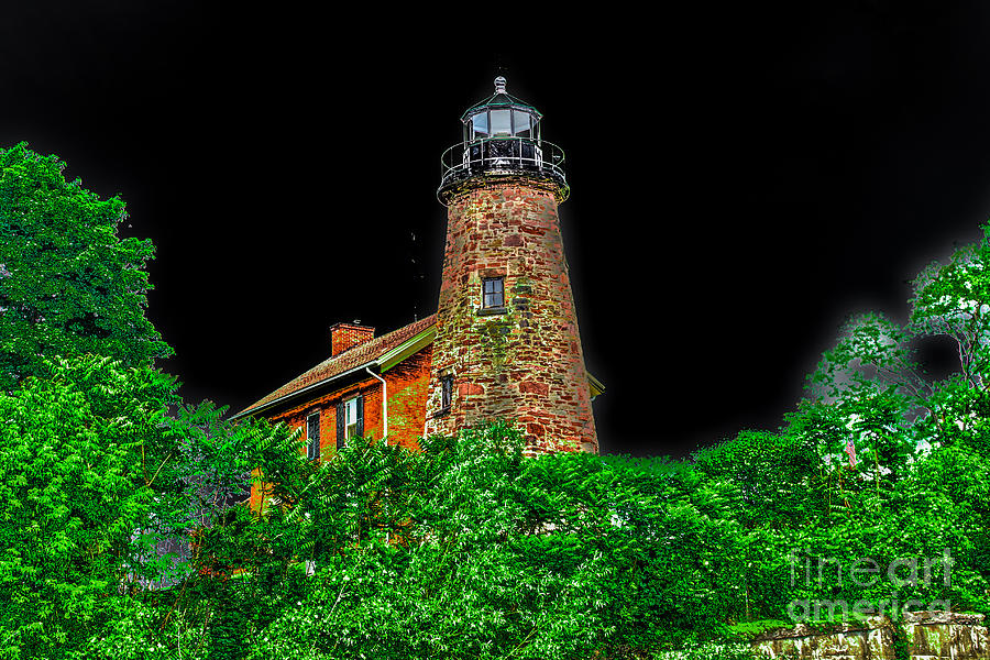 Lighthouse Photograph - Genesee Lighthouse by William Norton
