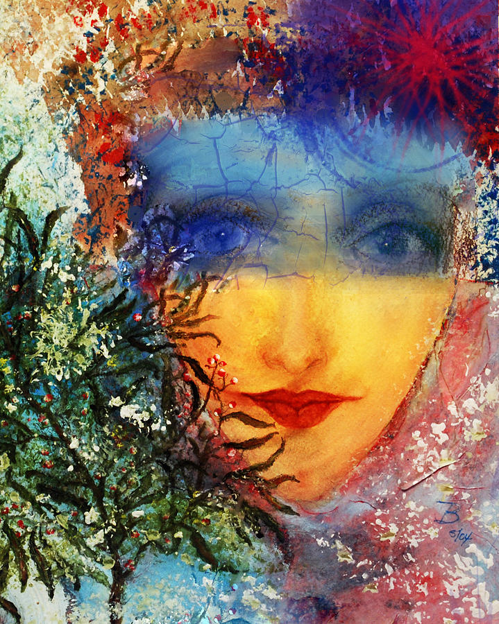 Wise Woman Digital Art - Genesis Iv by Patricia Motley