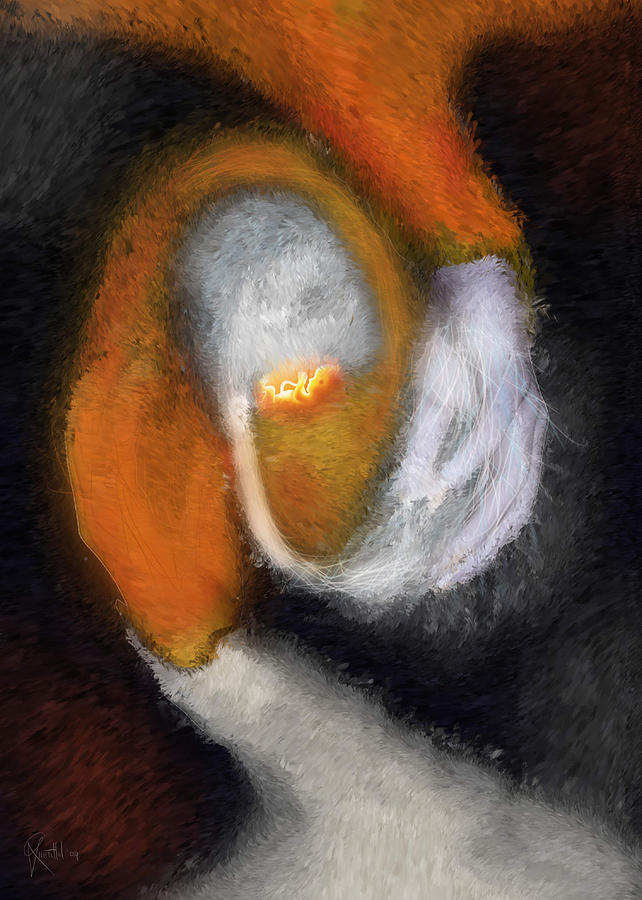 Genesis Painting - Genesis Of The Elder God by Randhir Rawatlal