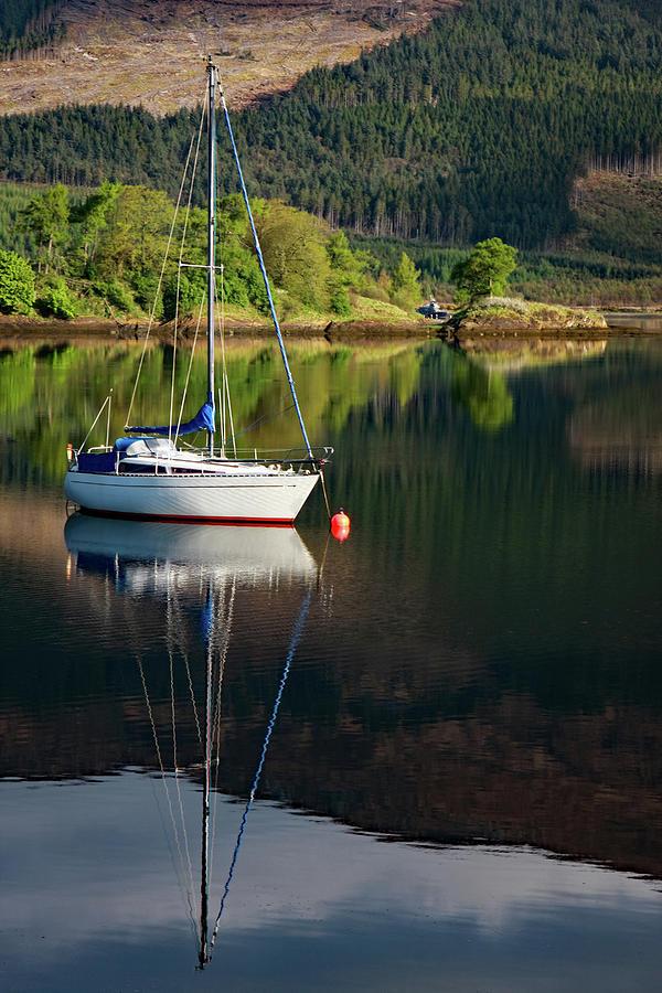 Scotland Photograph - Genestas Island by Martina Schneeberg-Chrisien