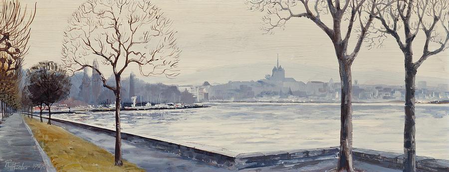 Geneva Painting - Geneva by Robert Foster
