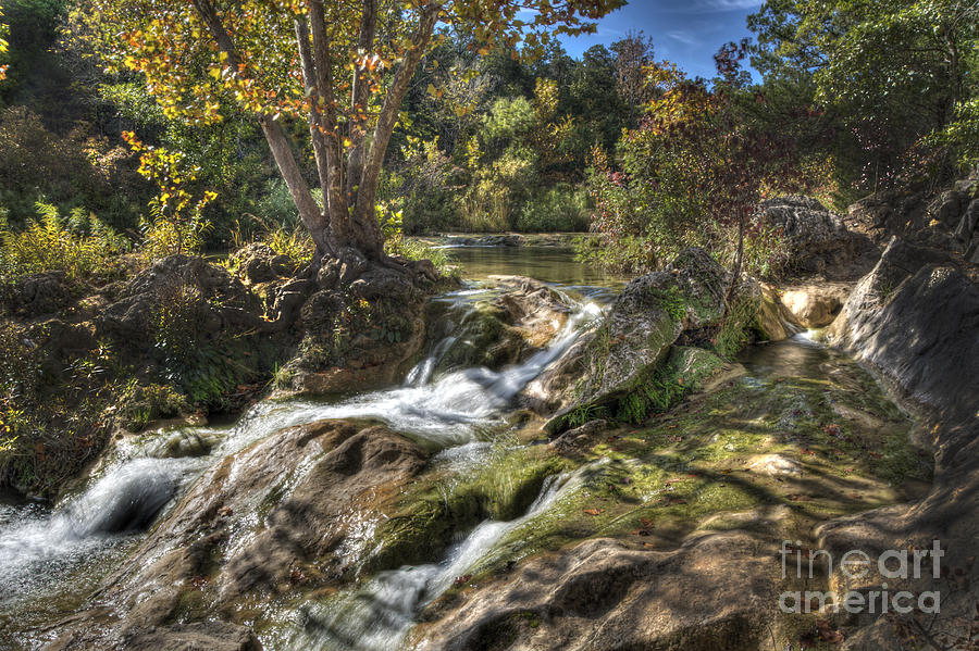 Stream Photograph - Gentle Mountain Stream by Tamyra Ayles