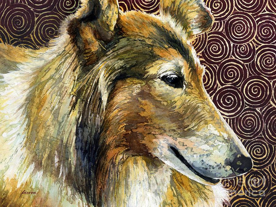 Tamu Painting - Gentle Spirit - Reveille VIII by Hailey E Herrera