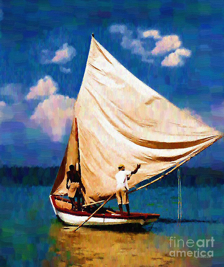 Diane Berry Painting - Gentle Winds by Diane E Berry