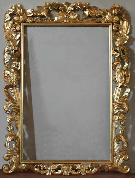 Gold Leaf Sculpture - Genuine Hand Carved Frames With Godl Leaf For Your Oil Painting by Art Trouve