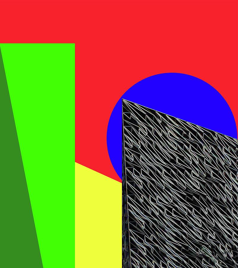 Geometric Shapes Digital Art - Geo Shapes 3 by Bruce Iorio