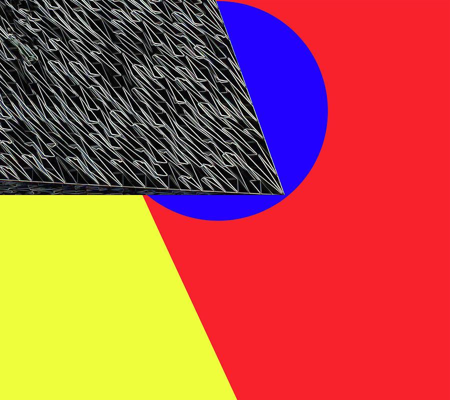 Geometric Shapes Digital Art - Geo Shapes 4a by Bruce Iorio