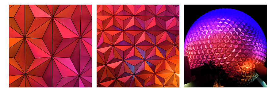 Geodesic Glow 2 by Christi Kraft