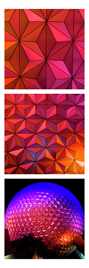 Geodesic Glow by Christi Kraft