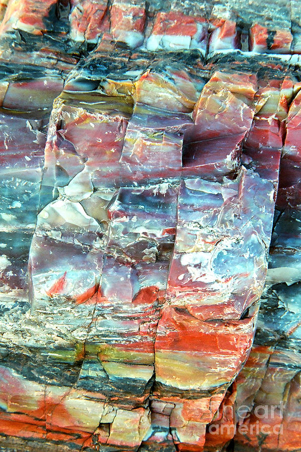 Rock Photograph - Geologists rainbow by Frank Townsley