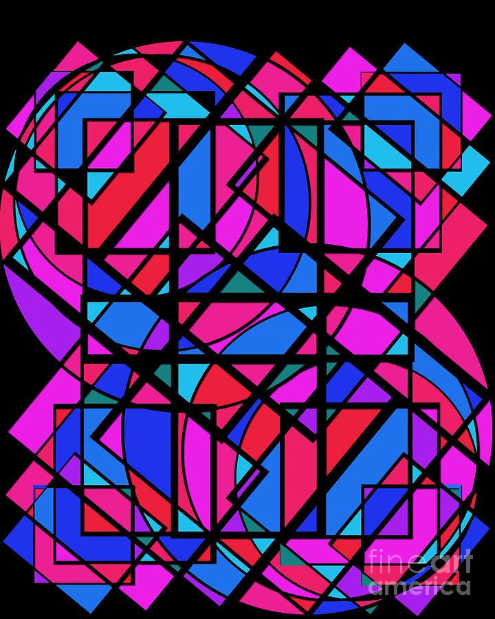 Geometric Discovery Digital Art