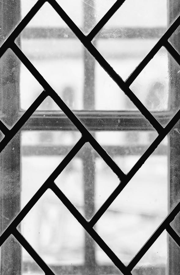 Geometric Glasswork by Christi Kraft
