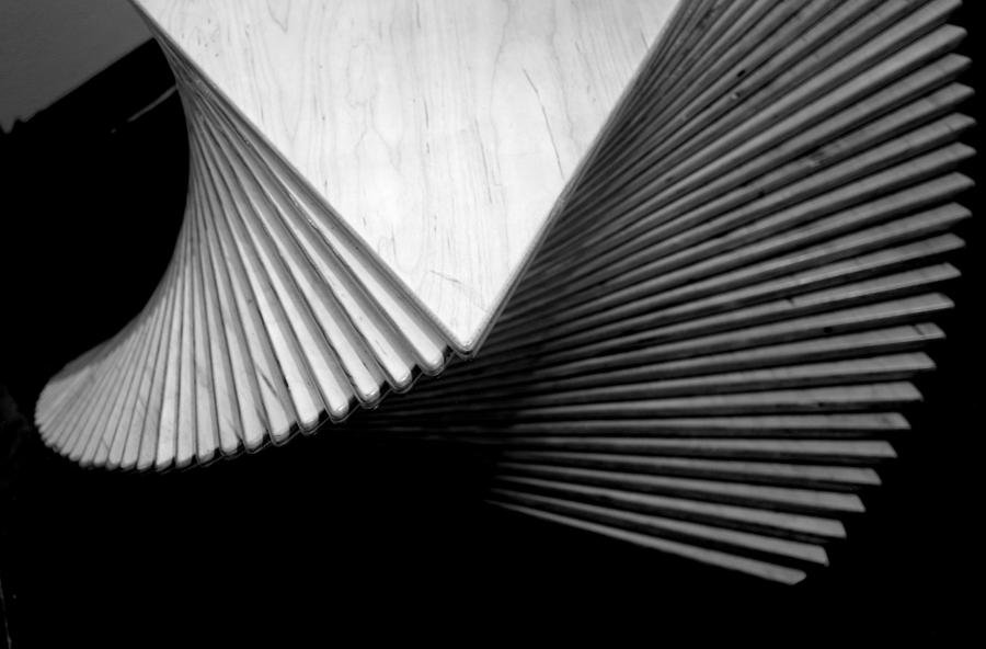 Geometry Photograph - Geometric Shapes And Stairs by Nathan Abbott
