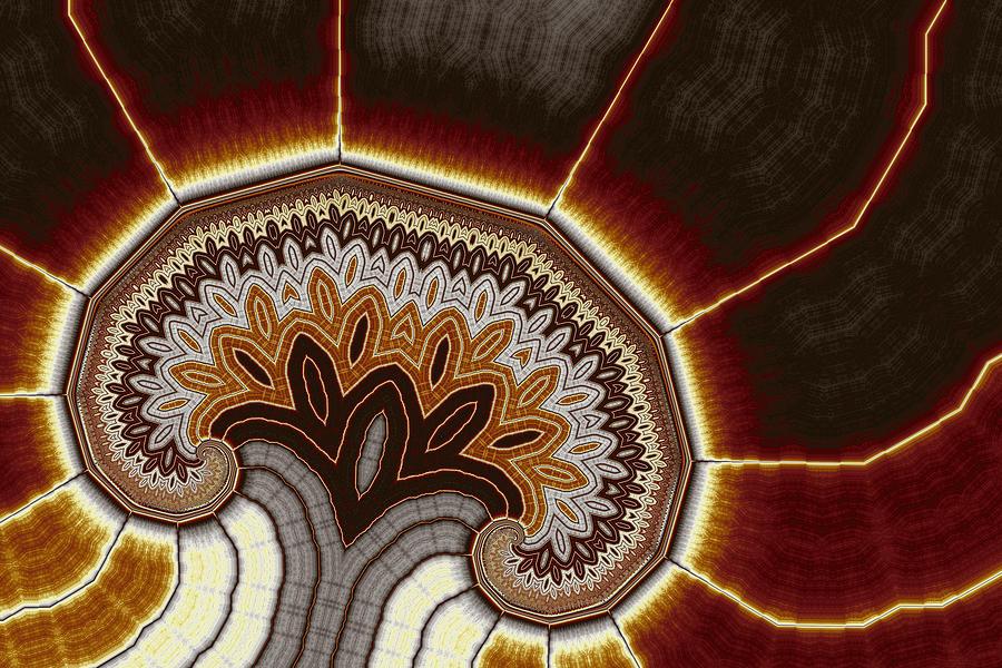 Geometric Tree No. 9 Digital Art