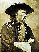 General Custer Painting - George Armstrong Custer by Kevin Heaney