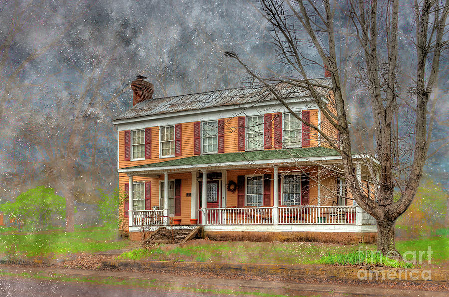 Hdr Photograph - George Eversole  by Larry Braun