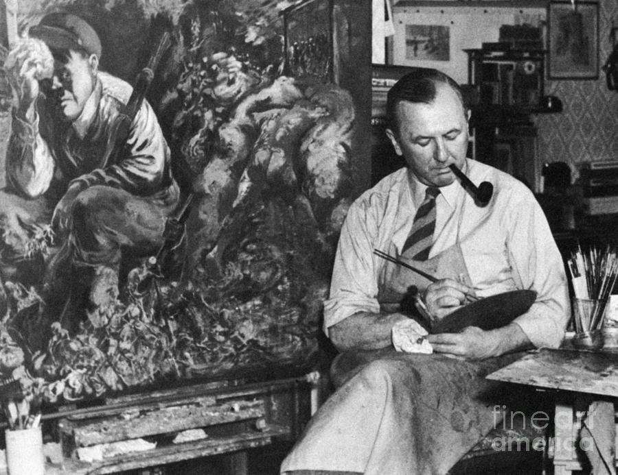 1944 Photograph - George Grosz (1893-1959) by Granger