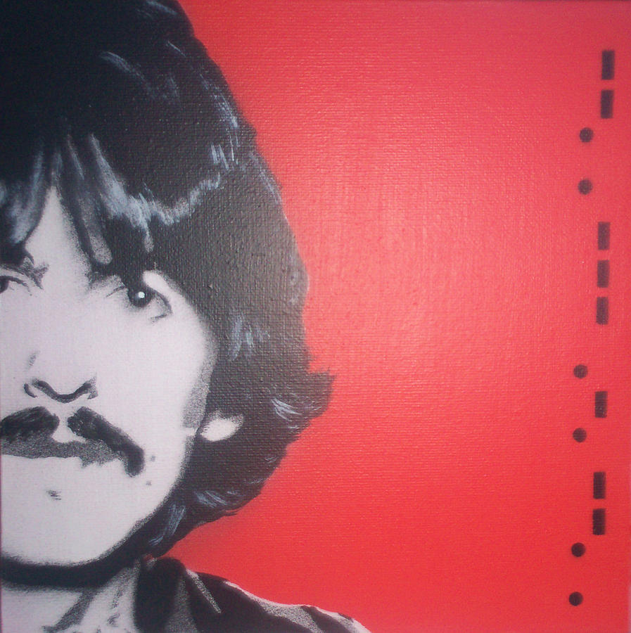 Beatles Painting - George Harrison by Gary Hogben