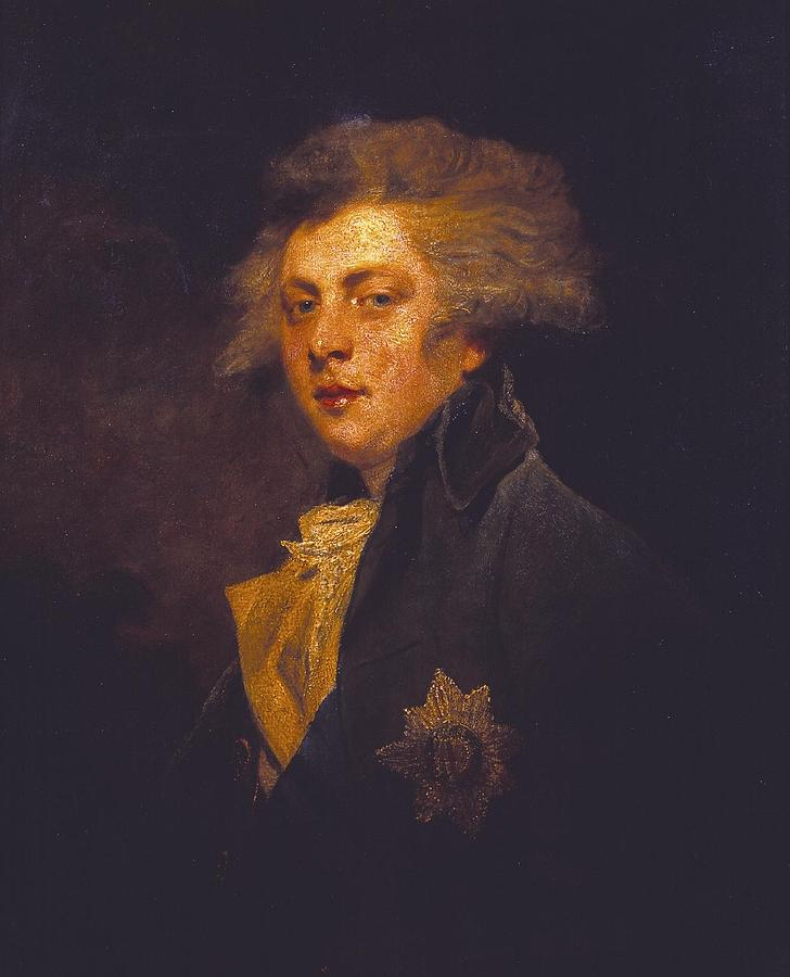 Woman Painting - George Iv When Prince Of Wales by Joshua Reynolds
