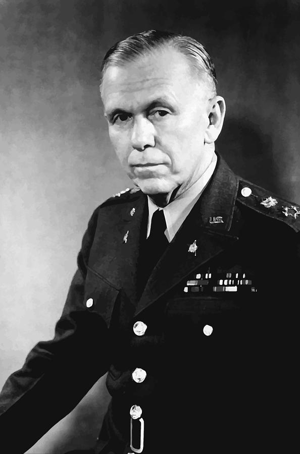 George Marshall Painting