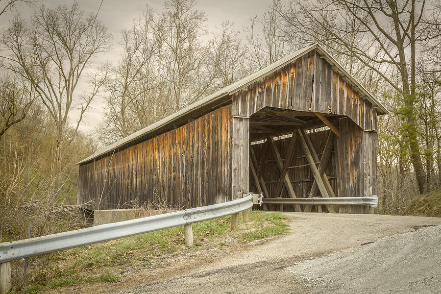 George Miller Covered Bridge Photograph