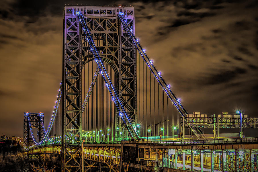 George Washington Bridge by Theodore Jones