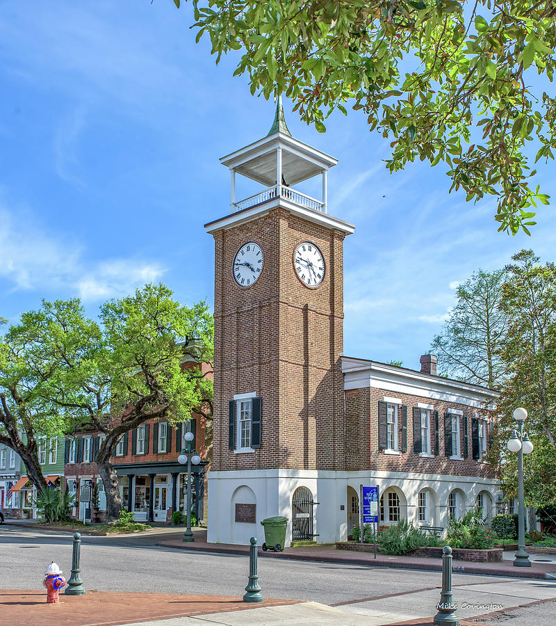 Georgetown Clock Tower by Mike Covington