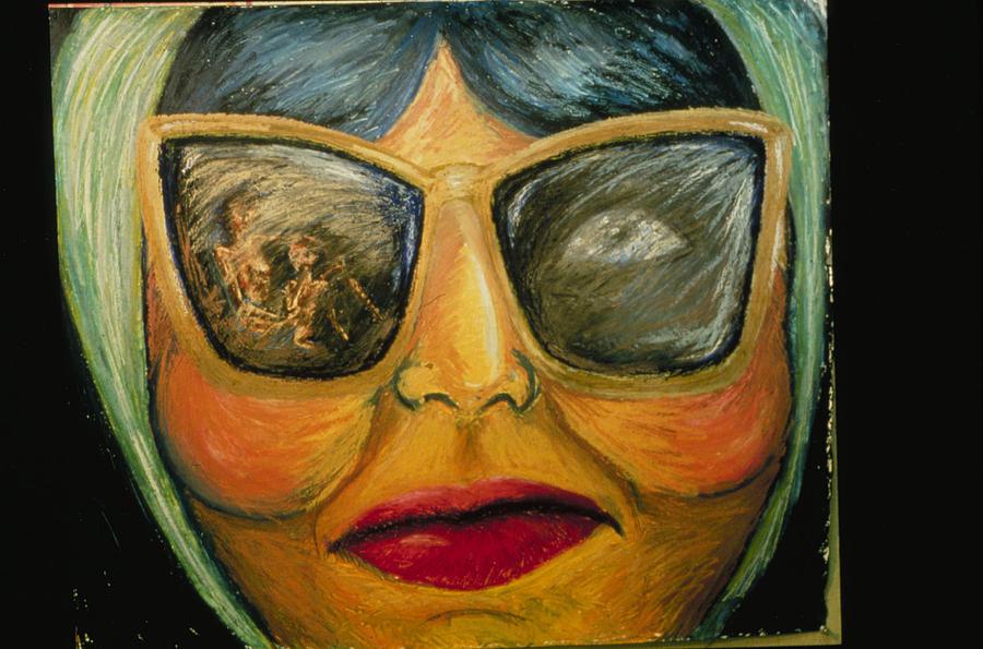 Woman Painting - Georgette Bien Chic by Barbara Nesin