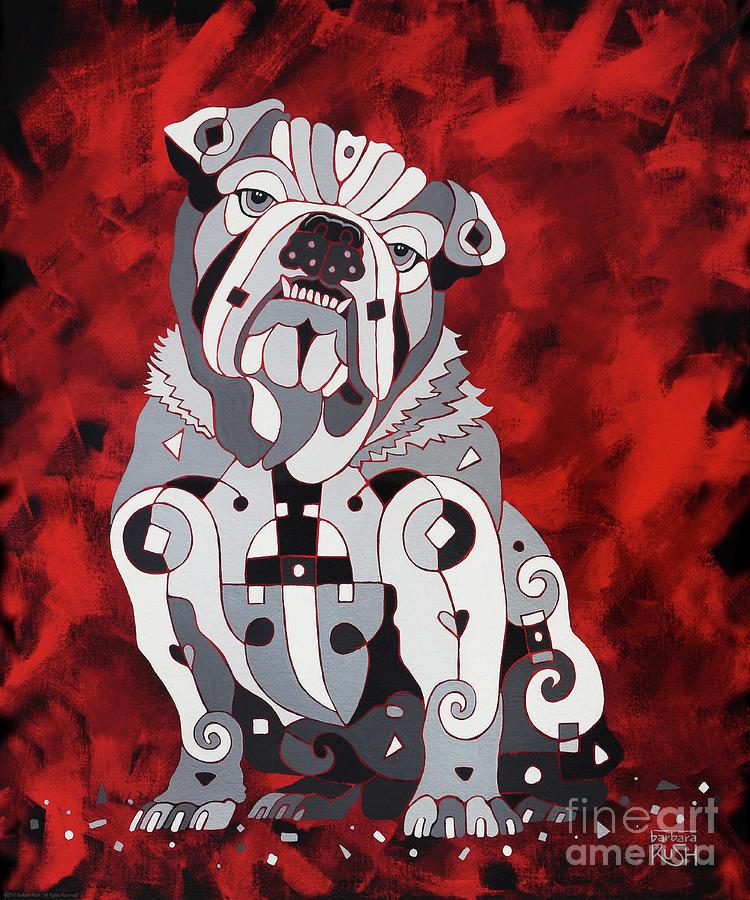 Georgia Bull Dog by Barbara Rush