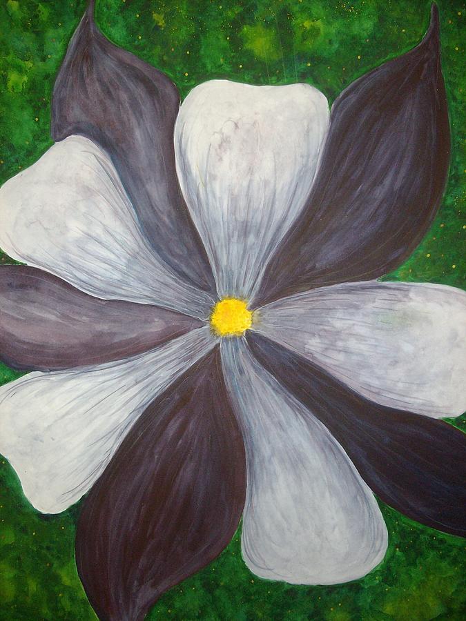 Flowers Painting - Georgia by Scott Harrington