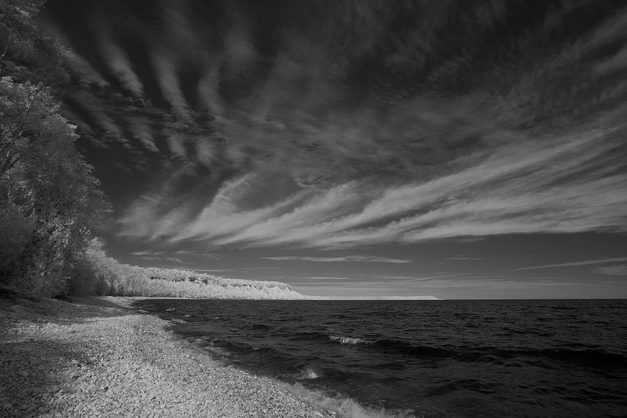 Ontario Photograph - Georgian Bay Infrared by Catherine DeDecker
