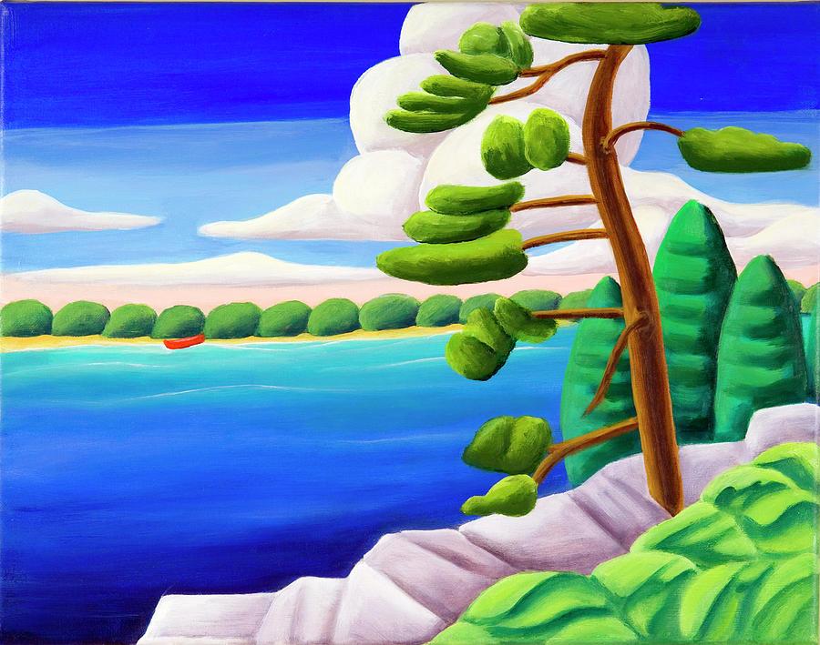Georgian Bay Painting - Georgian Bay Shores II by Lynn Soehner