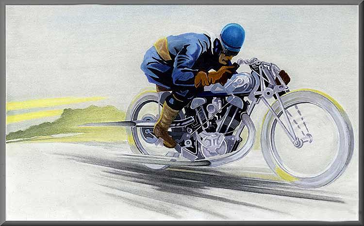 Transportation Drawing - Geos Bike by Lyle Brown