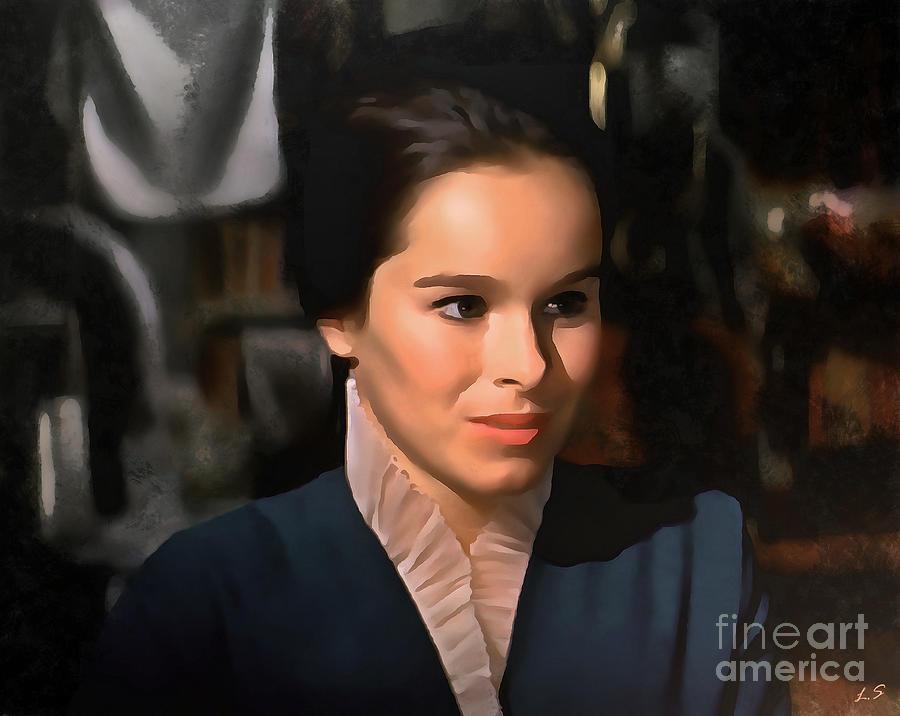 Geraldine Chaplin Augen