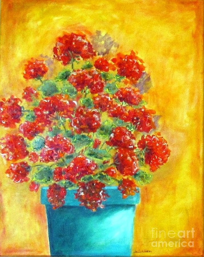 Geranium by Jeanie Watson