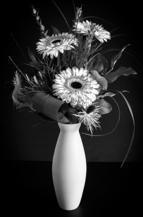 Gerber Daisy Bouquet by Garvin Hunter