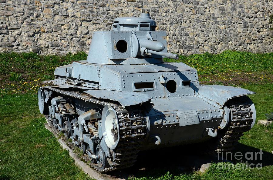 German Panzer II World War Two Light Tank Belgrade Military Museum Serbia