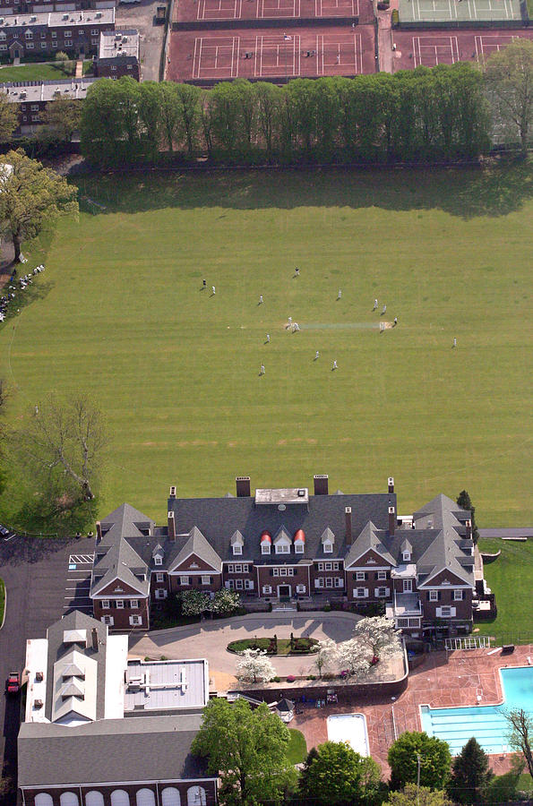Germantown Photograph - Germantown Cricket Club Courtyard by Duncan Pearson