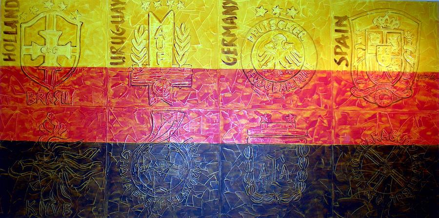 Germany-a Class Act Painting by Yolanda De Sousa