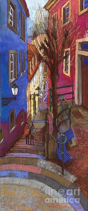 Pastel Painting - Germany Baden-baden 08 by Yuriy  Shevchuk