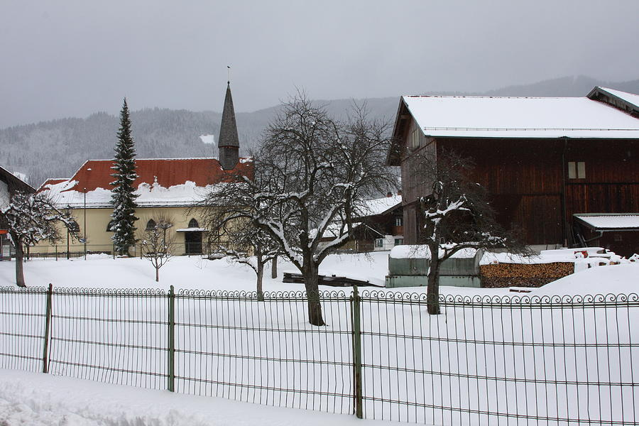 Germany In  Winter Photograph by Jim Riel