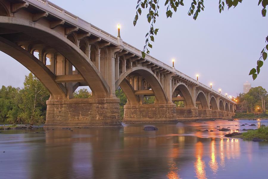 Gervais Bridge Photograph - Gervais Bridge by Steven Richardson