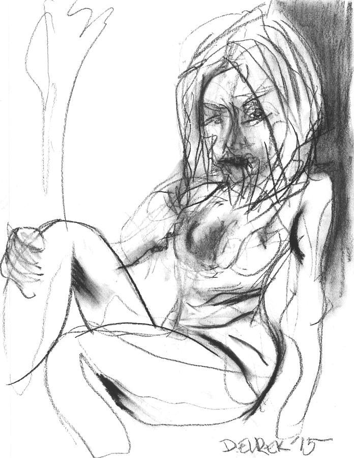 Abstract Drawing - Gesture IIi by Drew Eurek