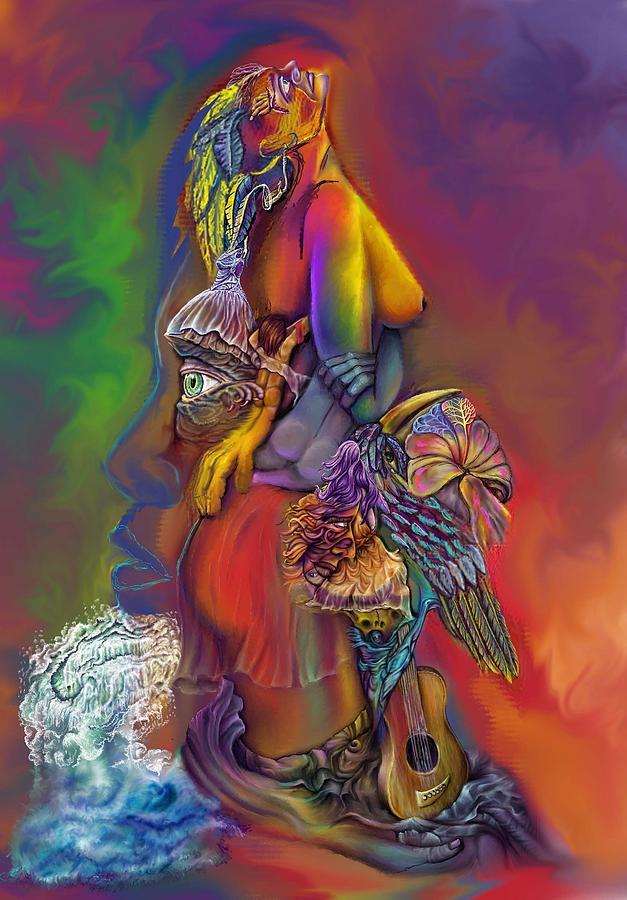 Wip Digital Art - Get Away Wip by Karen Musick