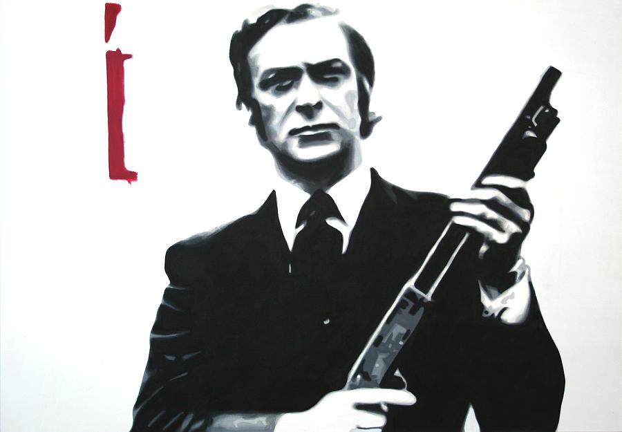 Michael Caine Painting - Get Carter 2013 by Luis Ludzska