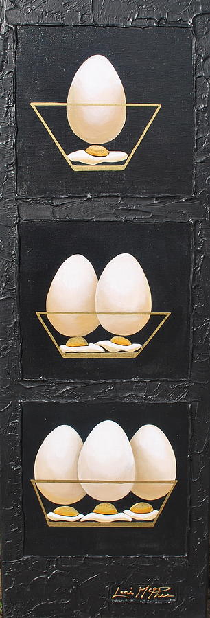 Still Life Painting - Get Cracking by Lori McPhee