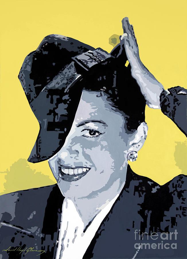 Judy Garland Painting - Get Happy by David Lloyd Glover
