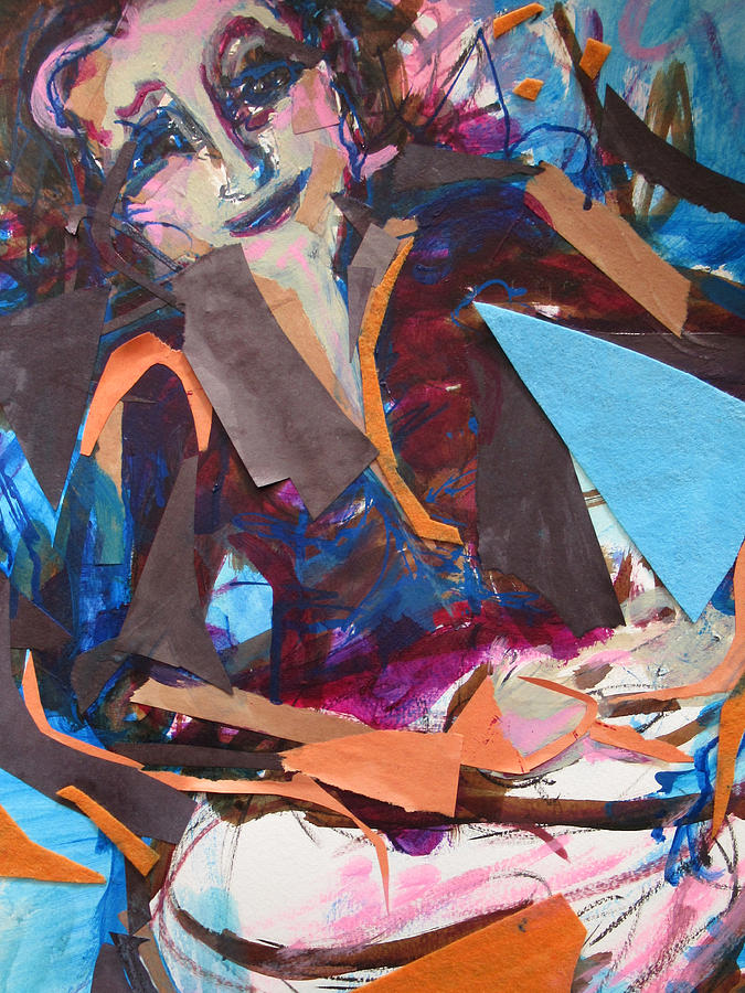Abstract Expressionism Mixed Media - Get into the groove by Amy Casteel